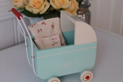 Maileg, My Blue Pram
