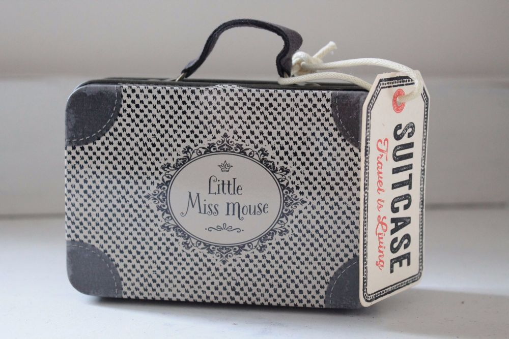 Maileg, Travel Suitcase Little Miss Mouse