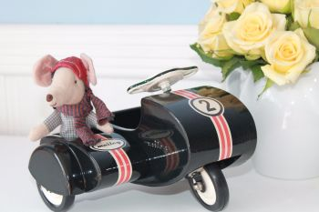 maileg black scooter