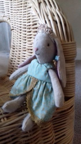 maileg micro bunny princess mint