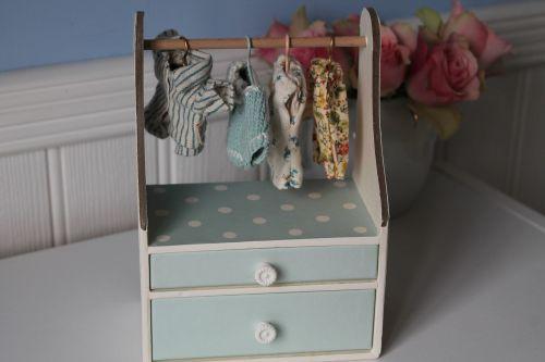 Maileg, Wardrobe Dresser