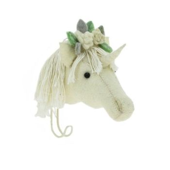 Fiona Walker, Flower Unicorn Hook (mini) Last One !