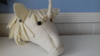 Fiona Walker, Unicorn Head (mini)