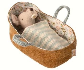 Maileg, Baby Mouse in Carrycot  *Aug*