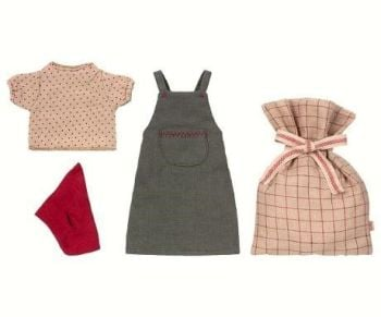 Maileg, Christmas Clothes, Medium Girl Mouse *PRE-ORDER*