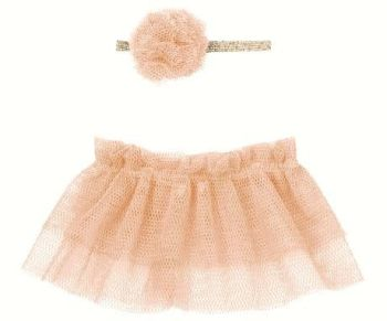 Maileg, Tutu & Hairband for Mini and Size 2 Bunny - Rose (Last one)
