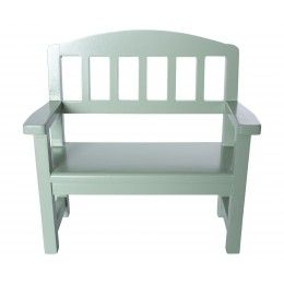 Maileg, Wooden Bench, Green *On Order*