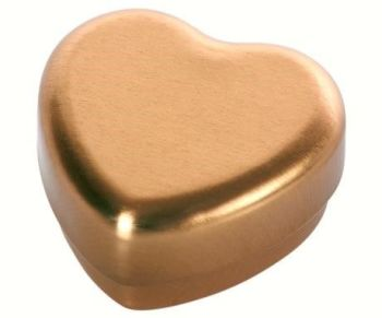 Maileg, Small Heart Gold Tin