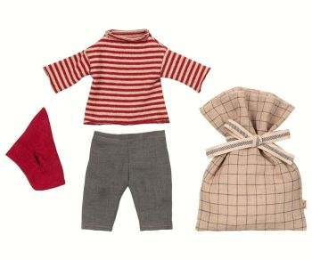 Maileg, Christmas Clothes, Medium Boy Mouse