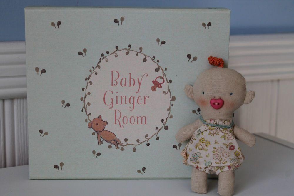Maileg, Ginger Baby Set