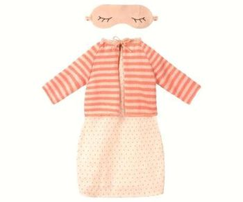 Maileg, Medium Mouse, Pink Dress Set