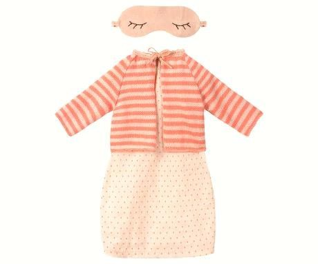Maileg, Medium Mouse Pink Dress Set