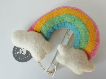 Fiona Walker, Mini Rainbow and Clouds Hook
