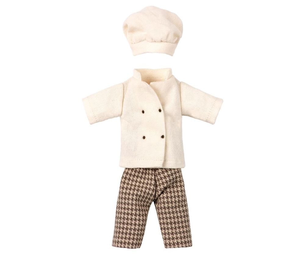 Maileg, Chef Outfit for Mouse (May)