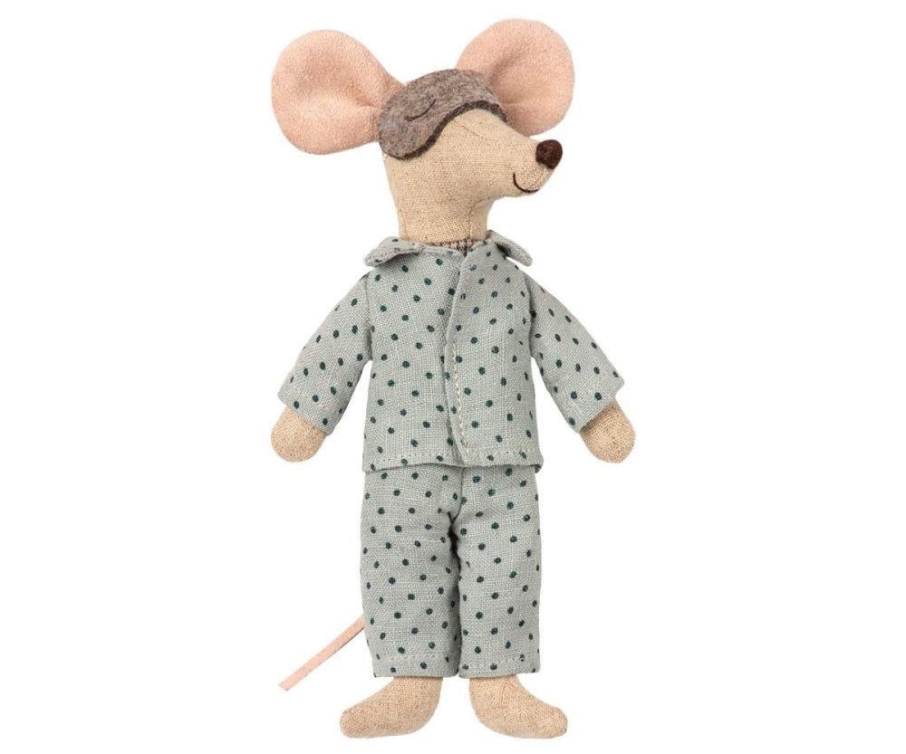 Maileg, Pyjamas for Dad Mouse - outfit only  (May)