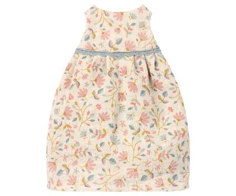 Maileg, Medium Mouse Floral Dress (Nov)