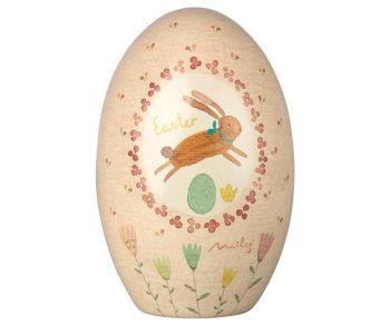 Maileg, Metal Easter Egg (Pink)