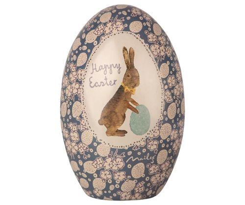 Maileg, Metal Easter Egg (blue)