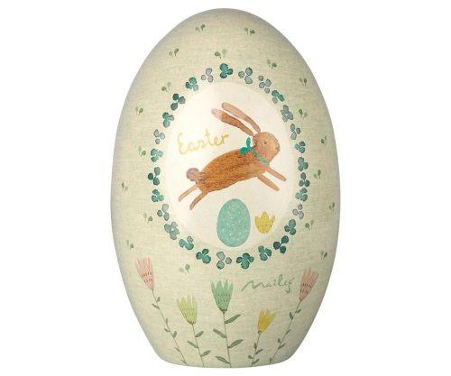 Maileg, Metal Easter Egg (Green)