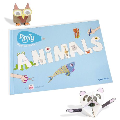 Pipity Animals Activity Book