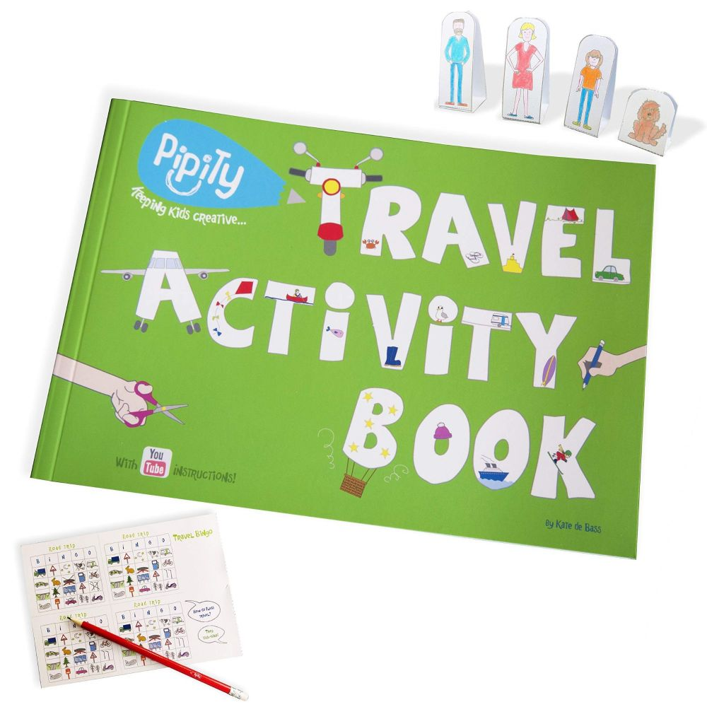 Pipity Travel Activity Books