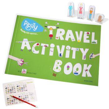 Pipity Travel Activity Books
