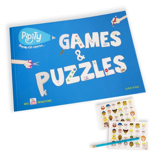 Pipity Games and Puzzles Activity Books