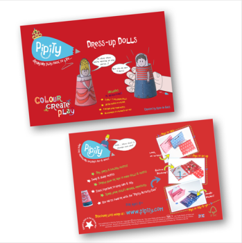 Pipity Dress up Doll Activity Book