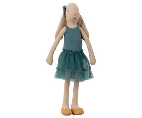 Maileg, Bunny Ballerina Size 3 - Petrol - Nov
