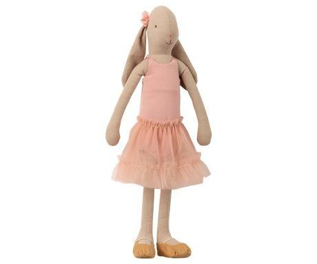 Maileg, Bunny Ballerina Size 3 - Rose - Nov