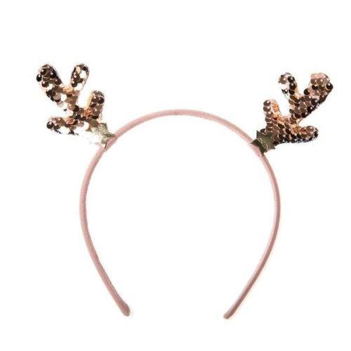 Sequin Reindeer Headband