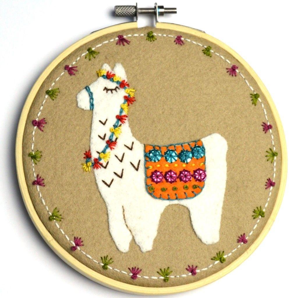 Llama in Hoop (large)