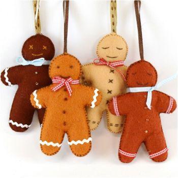 Gingerbread Men x4 (larger kit)