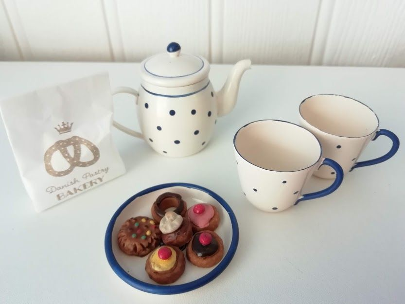 Maileg, Tea & Biscuits for Two in a Box