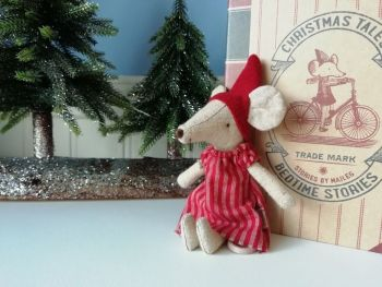 Maileg, Christmas Mouse in Book, Big Sister