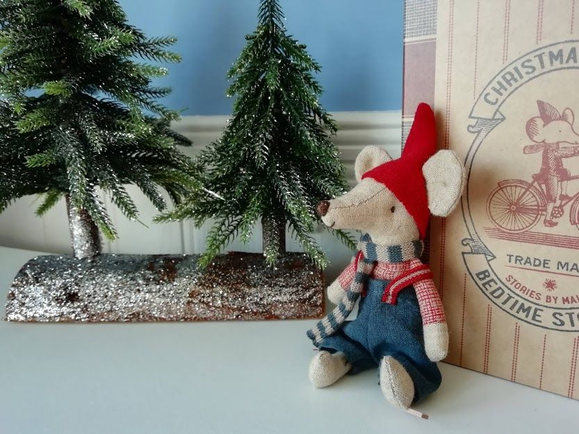 Maileg, Christmas Mouse in Book, Big Brother