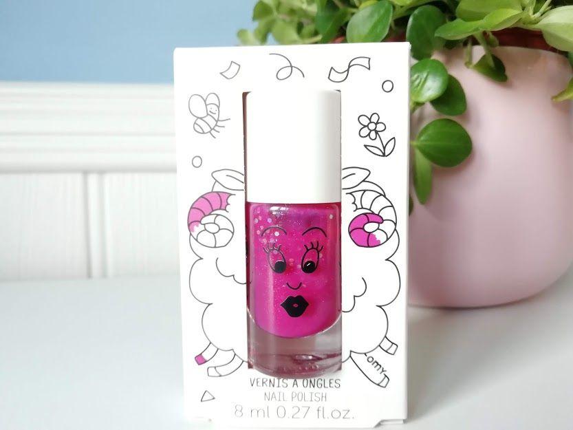 Nailmatic Polish Sheepy - Raspberry Glitter
