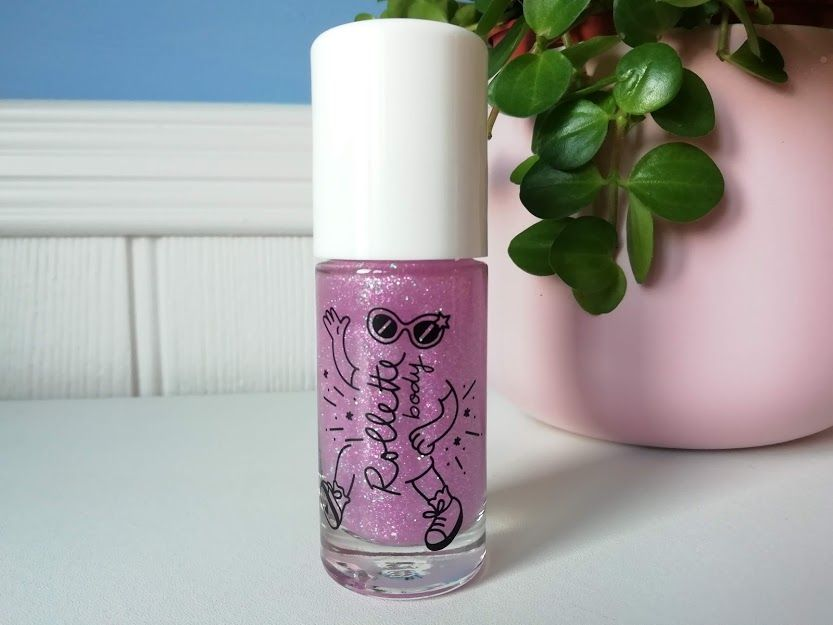 Nailmatic KIDS Body Glitter Rollette - Cherry