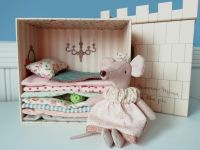 Maileg, Princess and the Pea, Big Sister Mouse (Pink)