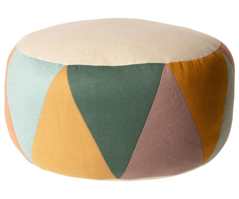 Maileg, Puff, Large Drum - Multi Coloured