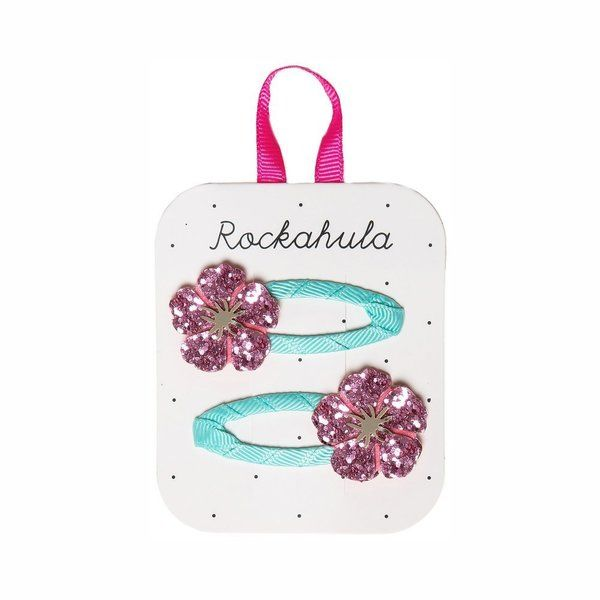 Rockahula Kids, Hibiscus Glitter Clips (Coming soon . . . .)