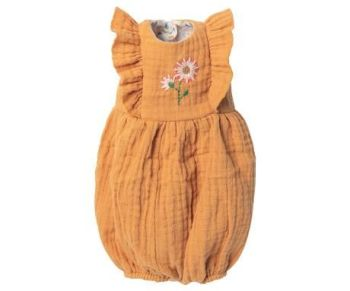 Maileg, Jumpsuit in Mustard, Size 4 (Due Late Feb)