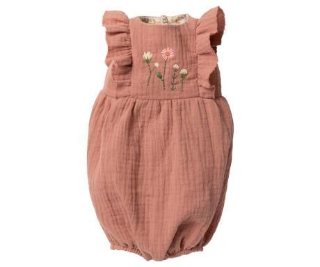 Maileg, Size 5 Jumpsuit in Rose (Due Late Feb)
