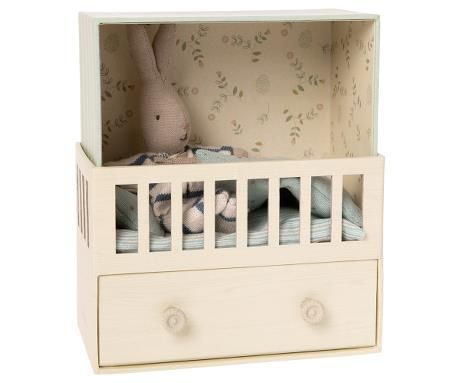 Maileg, Baby Room with Micro Rabbit (Due May)