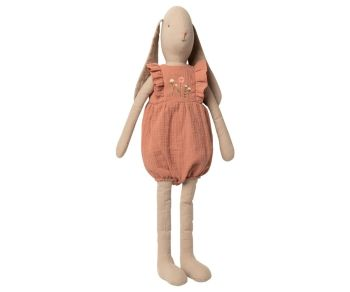Maileg, Bunny Size 5 in Jumpsuit - Rose (Due Late Feb)