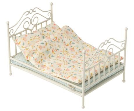 Maileg, Vintage bed, Micro - Soft Sand (Due May)