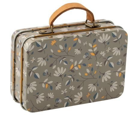 Maileg, Metal Suitcase - Merle Dark (Due April)