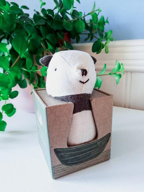 Maileg, Noah's Friends, Panda Rattle