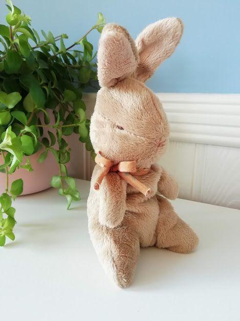 Maileg Baby Bunny with Ocher Ribbon