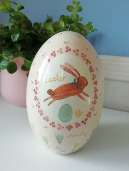Maileg, Metal Easter Egg (Pink)